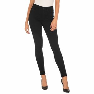 Guess Black High Rise Skinny Fit Ankle Jeans 26